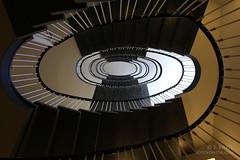 light & dark (Elbmaedchen) Tags: light stairs dark spirals hamburg stairwell upstairs staircase escaleras spirale escaliers treppenhaus winterhude treppenauge jarrestrase