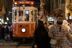(NancyHabbas) Tags: people food night turkey dark restaurant istanbul tourist busy shops taksim active crowded lively swarming hectic bustling abuzz istikalstreet