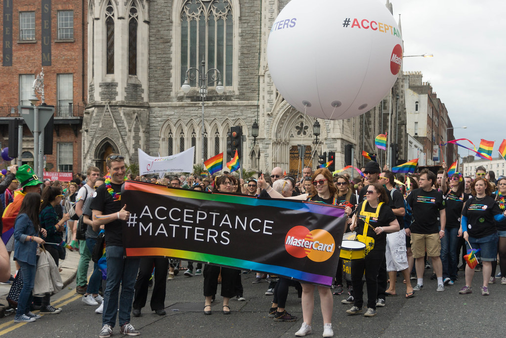 DUBLIN 2015 LGBTQ PRIDE PARADE [THE BIGGEST TO DATE] REF-105943