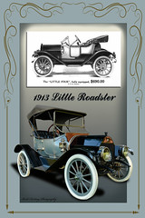 """1913 """"Little Four"""" Roadster (Brad Harding Photography) Tags: classic car automobile antique convertible kansascity missouri vehicle 13 ragtop 1913 roadster littlefour williamcdurant williamhlittle artoftheconcours thelittlecarcompany"""