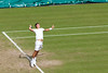 Tomic serving | Djokovic v Tomic | Day 5 | The Championships | Wimbledon 2015-53 (Paul Dykes) Tags: uk england london sport july tennis day5 wimbledon sw19 heatwave dayfive centrecourt 2015 bulges aeltc thechampionships novakdjokovic bernardtomic summer2015 wimbledon2015
