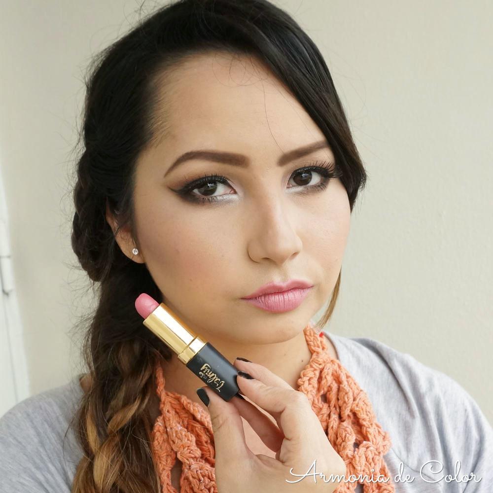 Maquillaje romantico en rosado 4
