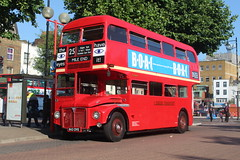 RM1843 (matty10120) Tags: bus london heritage tube route 25 end routemaster strikes extra mile rm rm1843 843dye