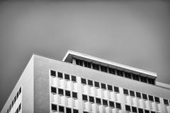 Eidetic Casein (jasonroecker) Tags: street sky blackandwhite bw white black monochrome architecture nikon space structure f28 nikkorq 135mm d700