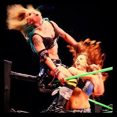 Christina Von Eerie vs. Mickie James #GFW #Vegas (Desautomatas) Tags: vegas james photo foto christina von eerie vs mickie gfw instagram desautomatas