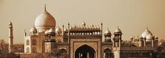 India - Uttar Pradesh - Agra - Taj Mahal - 36b (asienman) Tags: india agra tajmahal asienmanphotography mausoleum tomb mughalarchitecture uttarpradesh unescoworldheritagesite muslimart