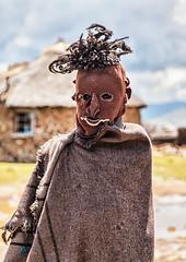 Lesotho Local (Rachel Dunsdon) Tags: man village figure local lesotho sanitop