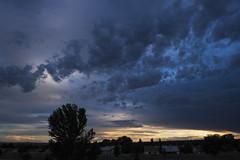 cumulus and stratus toward sunset (johngpt) Tags: sunset clouds stratus stratocumulus fromtheroof cumulushumilis fujinonxf1855mmf284rlmois fujifilmxt1