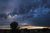 cumulus and stratus toward sunset (johngpt) Tags: fujifilmxt1 fujinonxf1855mmf284rlmois clouds cumulushumilis fromtheroof stratocumulus stratus sunset tpfsunsetssunrises