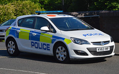 KV63VWF (Cobalt271) Tags: police northumbria vehicle 13 astra vauxhall response cdti kv63vwf