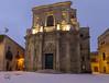 Chiesa di Santa Chiara (Ylejan) Tags: ylejan canon eos7d chiesasantachiara efs1022 lecce notturno lights neve gennaio 2017 noflash puglia italia salento