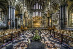 Ely Cathedral 2 (Darwinsgift) Tags: ely cathedral cambridgeshire interior hdr church carl zeiss 15mm distagon f28 nikon d810 zf photomatix