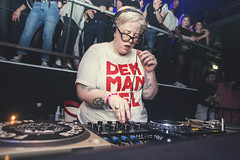 The Black Madonna (RG Video) Tags: lamachine moulinrouge paris party openminded guiltydogs music live concert club nightclub nightlife techno house event dj theblackmadonna
