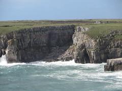 St Govan's Chapel (Dubris) Tags: wales cymru pembrokeshire sea coast cliff wave stgovanshead
