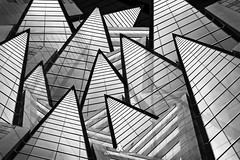 Image Illusion - Composition II (Dez Karpati Photography) Tags: dezkarpati photo photography photoart foto fineart bw blackandwhite monochrome abstract modern dark dramatic famous architecture building city collage miami florida fl brilliant wow