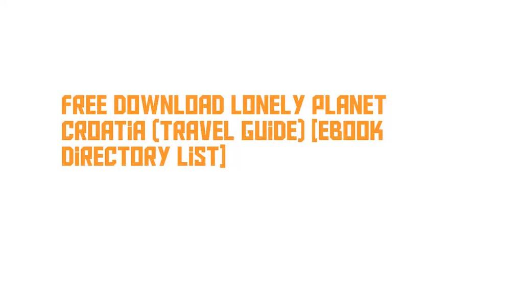 lonely planet scotland pdf download free