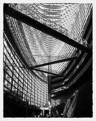 Tokyo International Forum (* Daniel *) Tags: polaroid polaroid110a polaroidlandcamera markdaniel markdanielphotocom ilford microphen ilfordfp4 ilfordfp4plus fp4 fp4plus sheetfilm 4x5 4x5sheetfilm ilfordfp4plussheetfilm ilfordmicrophen japan tokyo film filmgrain bw blackwhite blackandwhite mono monochrome architecture asa80 filmdev:recipe=11178 ilfordfp4125 film:brand=ilford film:name=ilfordfp4125 film:iso=80 developer:brand=ilford developer:name=ilfordmicrophen monochromejapan ysarex ysarex127mm ysarex127mmf47