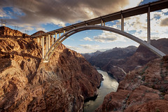 Memorial Bridge Colorado River (explored Feb 2017) (another_scotsman) Tags: memorialbridge nevada landscape hooverdam greatphotographers greaterphotographers
