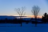 Photo 1 - 01/01/2017 - Near Bromont - Eastern Township - Quebec - Canada (L-A Marcoux) Tags: shefford quebec easterntownship canada sunset mountain bluemoment