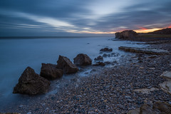 Trow-Tastic (russellcram) Tags: nikon d750 sunrise south shields trow point bay rocks water clouds long exposure le