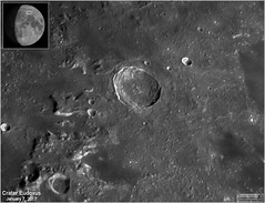 Eudoxus Crater – January 7, 2017 (The Dark Side Observatory) Tags: tomwildoner leisurelyscientistcom leisurelyscientist eudoxus crater moon solarsystem january 2017 weatherly pennsylvania astronomy astrophotography astronomer asi290mc zwo meade telescope lx90 celestron cgemdx sharpcap autostakkert imagesplus registax phase space science night nighsky