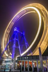 Wiener Riesenrad, (anderchalegre) Tags: viena prater wien ferriswheel rodagigante longexposure longaexposição europa europe thethirdman amusementpark