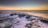 Northumberland Sunrise (ianbrodie1) Tags: northumberland coast coastline water ocean sea seascape rocks lee filter sunrise cloud horizon cloudsstormssunsetssunrises