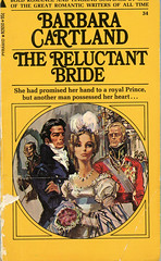 Novel-The-Reluctant-Bride-by-Barbara-Cartland (Count_Strad) Tags: novel book pages read reading pulp barbaracartland romance