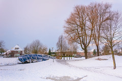 Beukenpark-41-1 (stevefge) Tags: beukenpark beuningen landscape snow winter bridges sky trees gelderland nederland netherlands nature natuur nl nederlandvandaag reflectyourworld sneeuw