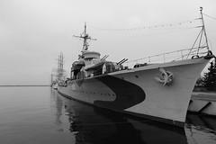 ORP Błyskawica H34 (dariusz_ceglarski) Tags: orp błyskawica h34 gdynia poland polska port schip ship ships museumships canon canon6d lightning flash black blackandwhite blackwhite white bw polish navy marynarka wojenna trojmiasto ngc