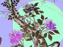 Chinese Moon v1.2 (MarkieToo) Tags: abstractart digitalart abstractexpressionism geometricart art digitalcollage chinesemotifmashups repetition