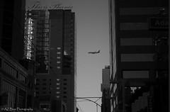 airplane (AZ Bear Photography) Tags: jet city arizona building beautiful
