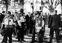 Protecting the Privileged (Geoff Livingston) Tags: inauguration ball trump president washington dc police officer privileged rich people 1 1percent protest women march