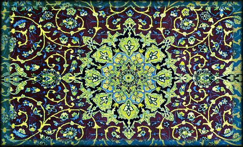 """Alfombras, espacios íntimos que simbolizan templos, árboles de la vida y el conocimiento, astros y paradisos. • <a style=""""font-size:0.8em;"""" href=""""http://www.flickr.com/photos/30735181@N00/32487291641/"""" target=""""_blank"""">View on Flickr</a>"""