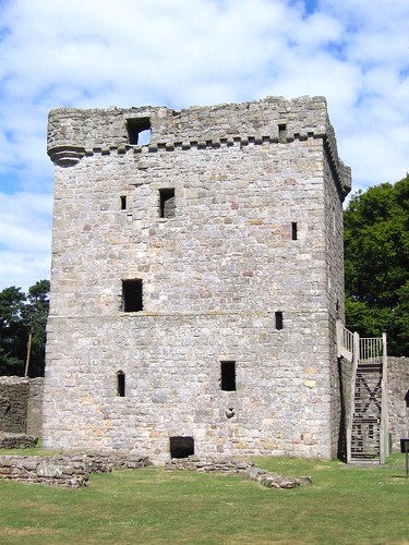 Keep at Lochleven Castle