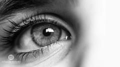 [35.365] Castles in the Air (Rich Jankowski) Tags: 35365 5dmkii bw blackwhite blackandwhite canon5dmkii closeup ef100mmf28usm eyecloseup photoaday2017 photoaday 2017 365 5d2 bethany black canon child eye eyelash macro mono white reflection