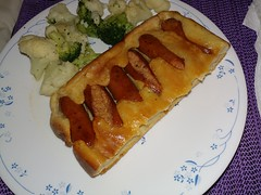 Toad in the Hole with Mini Chorizos