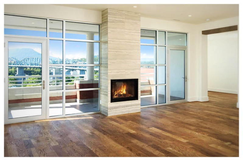 Valor H5 Direct Vent Fireplace. Chattanooga, Tn.