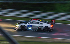 Audi R8 LMS (d-harding) Tags: cars night germany nikon racing audi panning n24 motorsport r8 nordschleife lms nrburgring nurburgring adenauerforst d5100 nikond5100 sigma105mmf28macroexdgoshsm