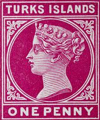 Queen Victoria Turks Penny