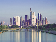 Frankfurt.AmMain (theo.zinth) Tags: nature skyline germany deutschland hessen outdoor main theme waters motive fluss frankfurtammain realism realismus gewsser