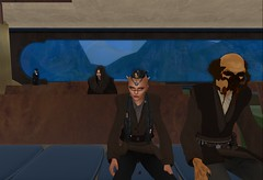 7_26_15 Watching Phoenixs Knighting 2 (elyssa.moonshadow) Tags: life people star starwars sl jedi second wars yavin roleplay