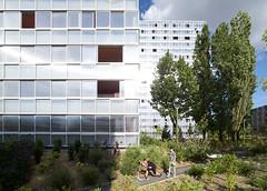 Обновленные жилые кварталы в Лормон от LAN Architecture