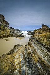 Quarry Beach Rock Portrait (matt haysom) Tags: longexposure sea seascape beach coast australia victoria sigma1020mm nd400 d7000