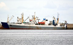 """""""KAPITAN VESELKOV"""" - IMO 8855401 (Rick Vince) Tags: kapitanveselkov pulkovskiymeridian imo8855401 fishingvessel fishfactory fishingship sterntrawler puertodelaspalmas"""