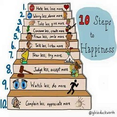 10 Steps To Happiness (Alex.Gubbels, P.Eng., PMP) Tags: happiness happy quotes