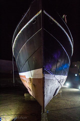 IMG_5480_adj (md93) Tags: illumination festival art architecture lights irvine scottish maritime museum scotland ayrshire linthouse carola ships