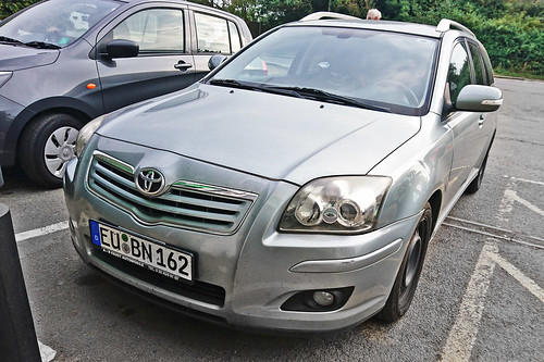 Toyota Avensis Estate D4-D - EU BN 162 - Euskirchen District, North Rhine-Westphalia, Germany