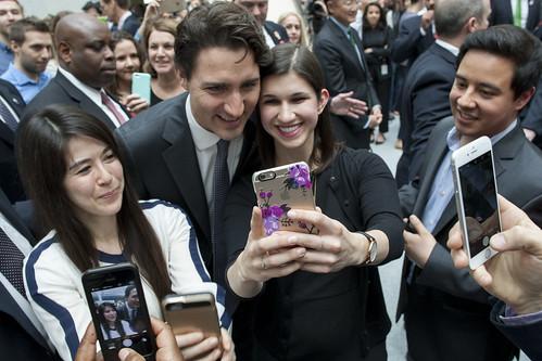 Trudeau groupies