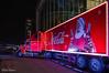 Coca cola trcuk, Emmen (Rene Mensen) Tags: coca cola truck emmen drenthe wildslands theather thenetherlands light nikon nikkor night christmas kerstmis
